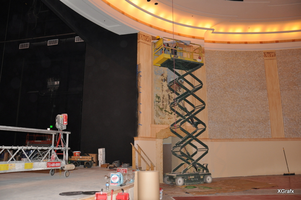 Houston Theatre - Graphics and Installation