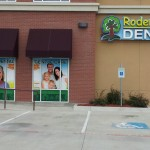 Rodem Tree Dental - Window Graphics and Installation, Illuminated Channel Letter Sign - Side View