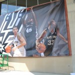Spurs Playoff 2012 - Large Banners, Large Format - Printing, Large Banner Installation