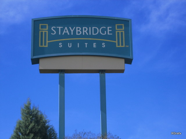 Staybridge Pylon Sign