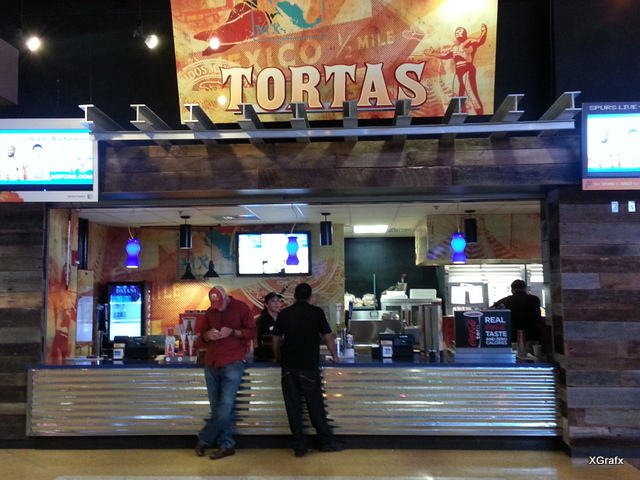 Tortas Restaurant Signs and Branding interior & exterior makeover