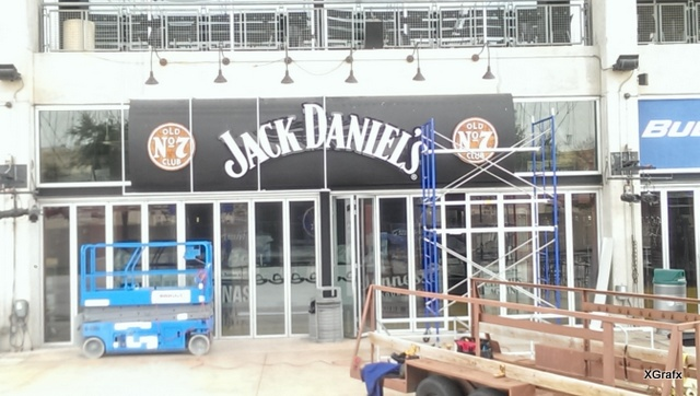 Jack Daniel's - Before Sign Installation