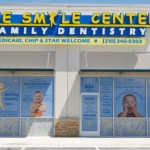 Smile Center Illuminated Channel Letter and Window Graphics
