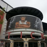 Large Mesh Banners - Spurs NBA Finals